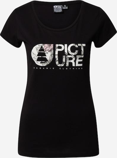 Picture Organic Clothing T-shirt fonctionnel 'FALL' en noir / blanc, Vue avec produit