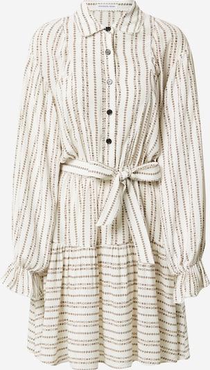 Designers Remix Kleid 'Madeira' in braun / weiß, Produktansicht
