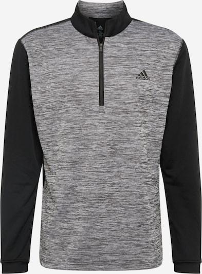 adidas Golf Sportsweatshirt in de kleur Grijs / Zwart, Productweergave