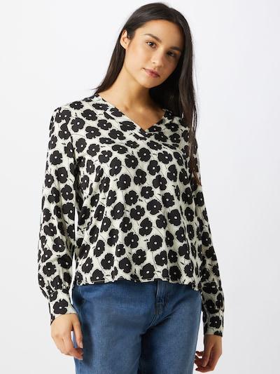 Esprit Collection Bluse in schwarz / offwhite, Modelansicht