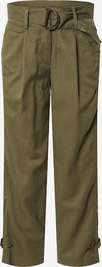 TOM TAILOR Kalhoty se sklady v pase - zelená, Produkt