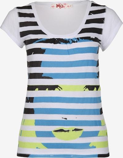 MO Shirt in blau / dunkelblau / gelb / weiß, Produktansicht