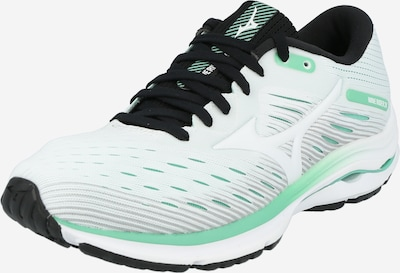 MIZUNO Running shoe 'WAVE RIDER 24' in Mint / Black / White, Item view