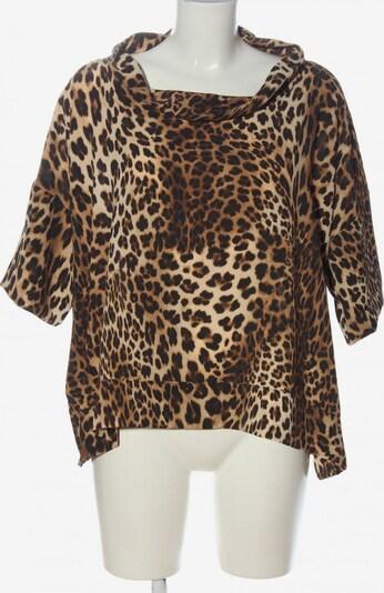 ViCOLO Kurzarm-Bluse in L in creme / braun / bronze, Produktansicht