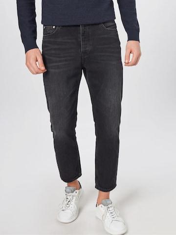 Jeans de la Calvin Klein Jeans pe negru