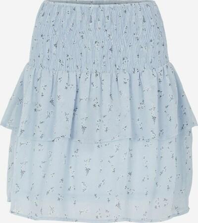 PIECES Suknja 'Leon' u mornarsko plava / svijetloplava / bijela, Pregled proizvoda