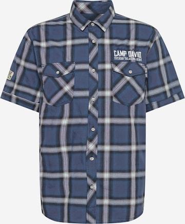 CAMP DAVID Skjorte i blå