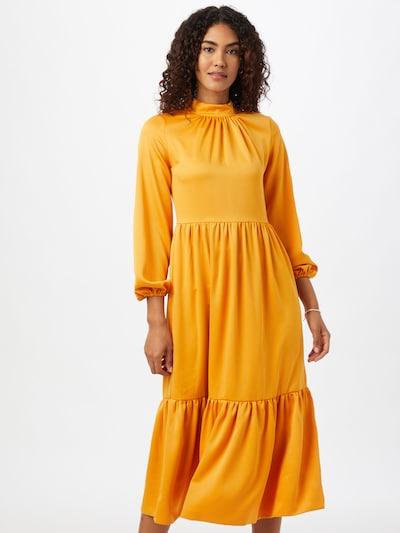 Closet London Kleid in senf, Modelansicht
