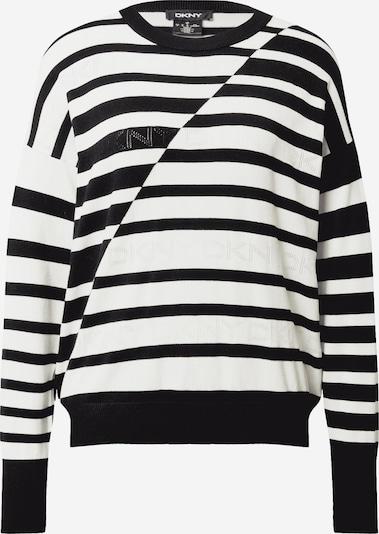 DKNY Trui in de kleur Zwart / Wit, Productweergave