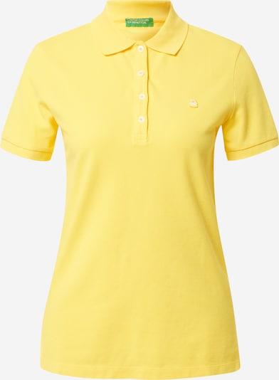 UNITED COLORS OF BENETTON Paita värissä keltainen: Näkymä edestä