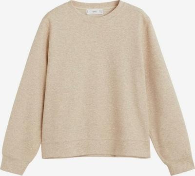 MANGO Sweat-shirt en sable, Vue avec produit