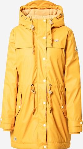 Ragwear Jacke 'CANAN' in Yellow