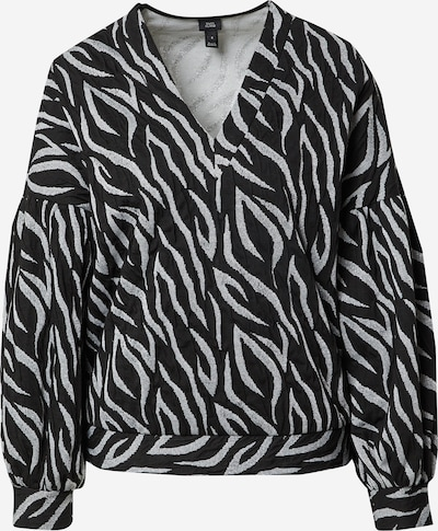 River Island Bluza | srebrno-siva / črna barva, Prikaz izdelka