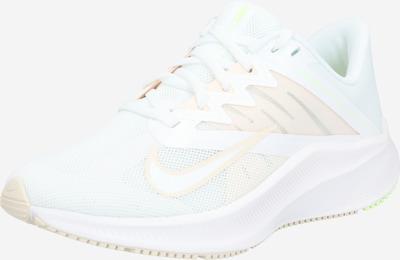 NIKE Chaussure de course 'Quest 3' en beige / blanc, Vue avec produit