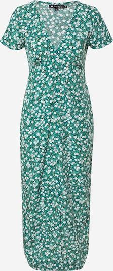 Motel Kleid 'Larin' in grün / orange / weiß, Produktansicht