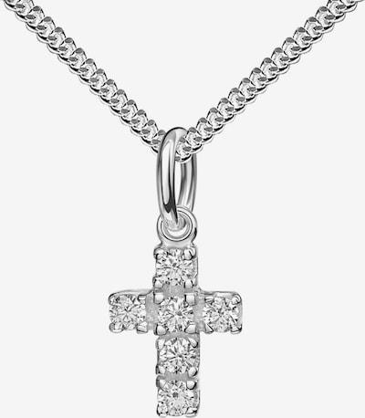 JEVELION Kreuzkette Kreuzanhänger 925 Silber + Kette in silber, Produktansicht