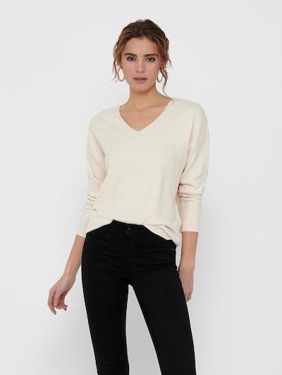 ONLY Pullover 'Rica' in hellgrau, Modelansicht