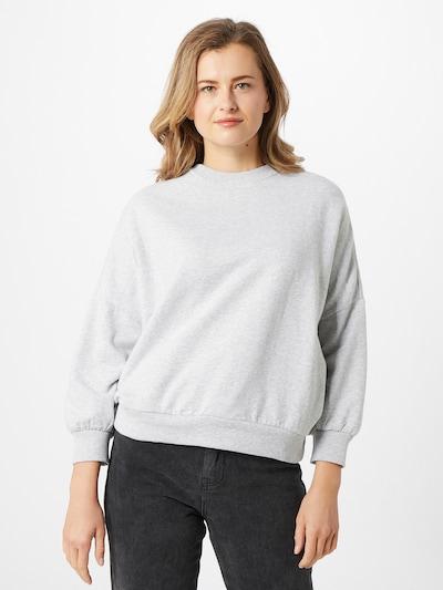 GAP Sweat-shirt en gris clair, Vue avec modèle