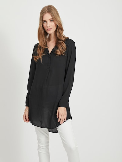 VILA Tunic in Black, View model