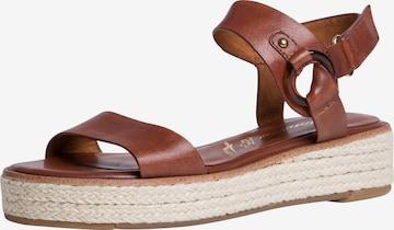 TAMARIS Sandals in Brown