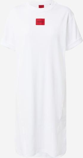 HUGO Nachthemd 'Neyle' in rot / weiß, Produktansicht