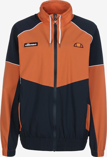 ELLESSE Athletic Jacket 'Mali' in Navy / Dark orange, Item view