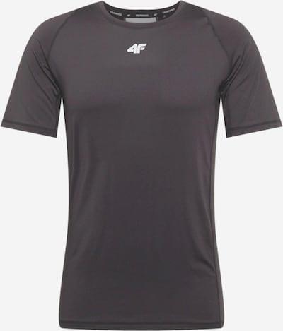 4F Koszulka funkcyjna w kolorze czarny / białym, Podgląd produktu