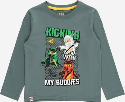 LEGO WEAR Shirt in de kleur Geel / Groen / Vuurrood / Zwart / Wit, Productweergave