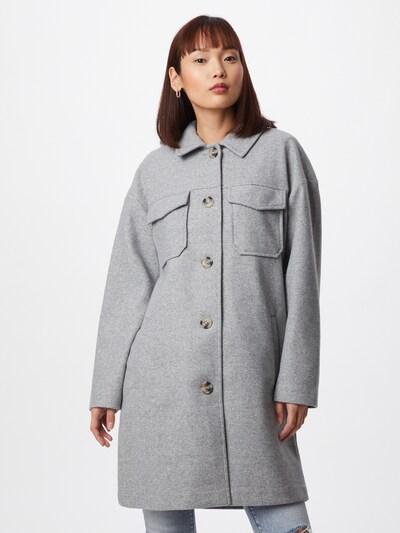 VERO MODA Płaszcz przejściowy w kolorze jasnoszarym, Podgląd na modelu(-ce)