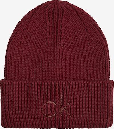 Calvin Klein Mütze in rubinrot, Produktansicht