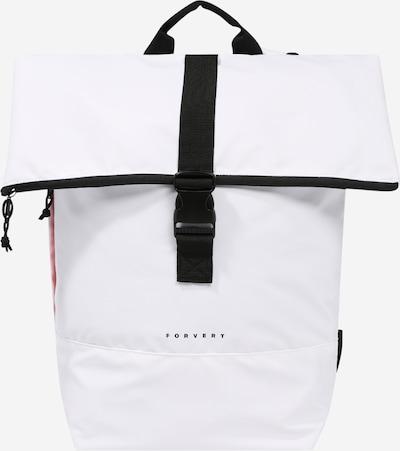 Forvert Rucksack 'Tarp Lorenz' in schwarz / weißmeliert, Produktansicht