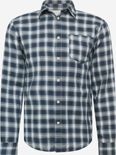 SELECTED HOMME Overhemd 'MATTHEW ' in de kleur Donkerblauw / Offwhite, Productweergave