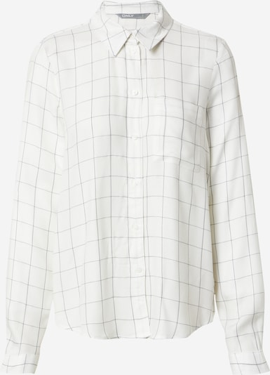 ONLY Blusa 'ANNALIE' en gris plateado / offwhite, Vista del producto