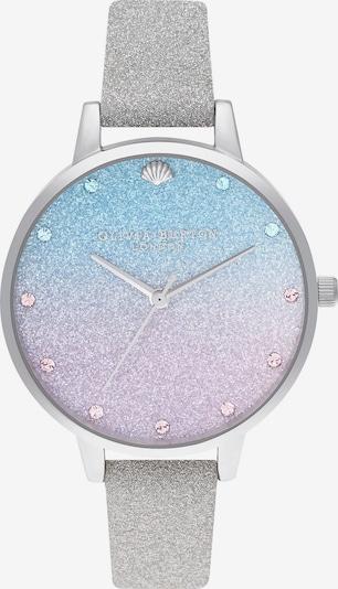 Olivia Burton Uhr in blau / silbergrau, Produktansicht