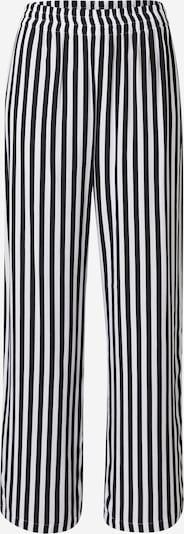 PIECES Hose 'BEMANA' in schwarz / weiß, Produktansicht