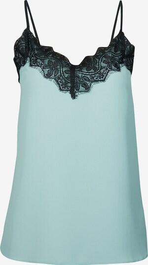Auden Cavill Bluse in hellblau / schwarz, Produktansicht