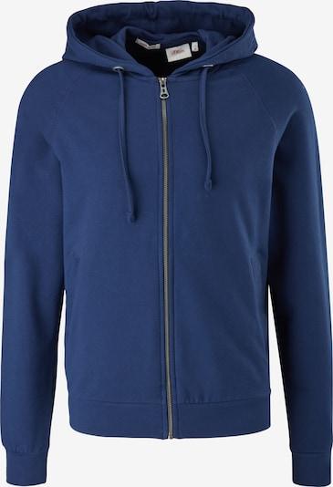 s.Oliver Gebreid vest in de kleur Donkerblauw, Productweergave