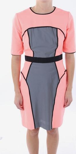 Milly Kleid in XXS in apricot, Produktansicht