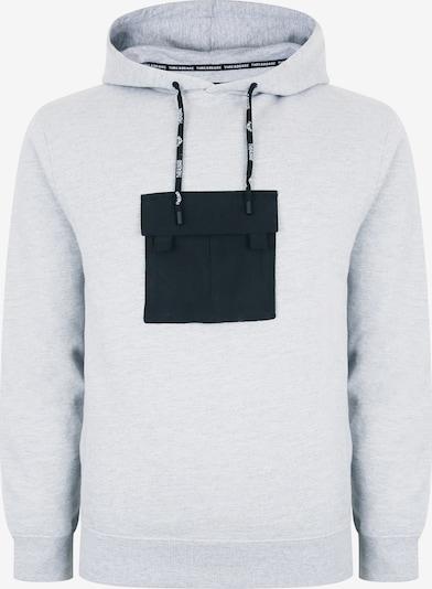 Threadbare Sweatshirt 'Lennon' in graumeliert / schwarz, Produktansicht