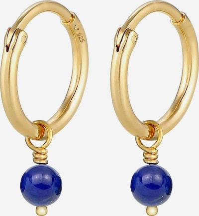 ELLI Boucles d'oreilles en saphir / or, Vue avec produit