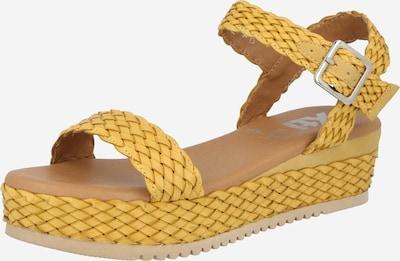 Xti Sandale in gelb, Produktansicht