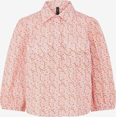 Y.A.S Bluse 'Ricca' in mischfarben / rosa, Produktansicht