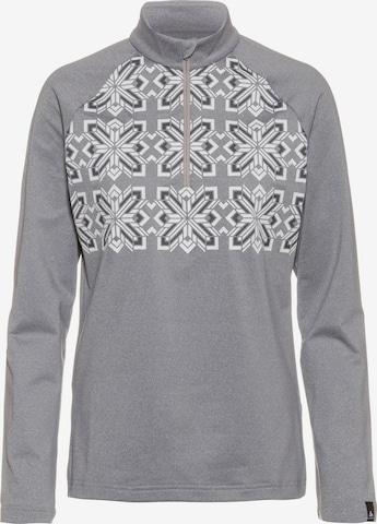 ODLO Performance Shirt 'Pazola Ribbon' in Grey