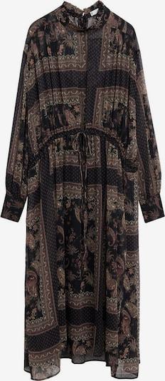 MANGO Košulja haljina 'Eros' u miks boja / crna, Pregled proizvoda