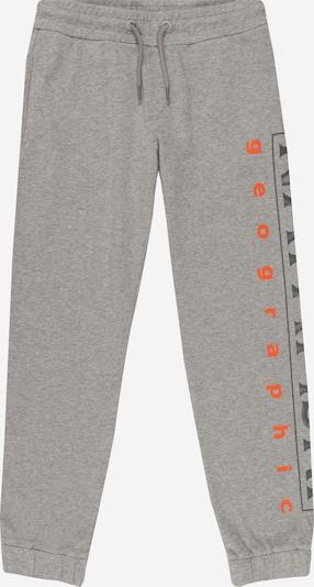 NAPAPIJRI Spodnie 'MADYR' w kolorze ciemnoszary / nakrapiany szary / ciemnopomarańczowym, Podgląd produktu