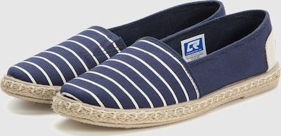 Crosby Slipper in blau / braun / weiß, Produktansicht