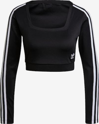 ADIDAS ORIGINALS Shirt in Black / White, Item view