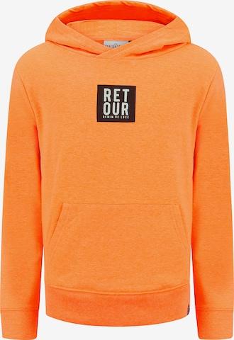 Retour Jeans Sweatshirt 'Gino' in Orange
