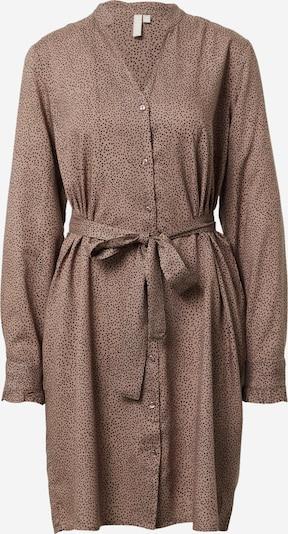 PIECES Kleid 'FRIDINEN' in taupe / schwarz, Produktansicht