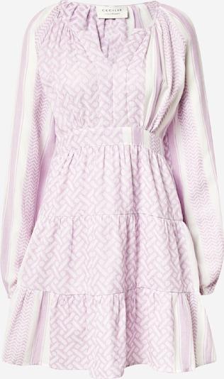 Cecilie Copenhagen Kleid 'Monica' in lila / weiß, Produktansicht